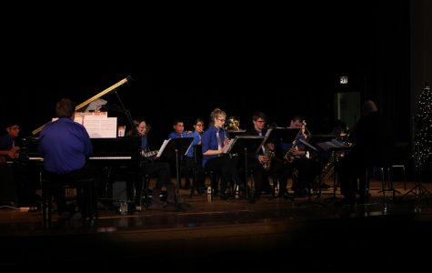 Jazz Band Brings Holiday Cheer With Winter Concert