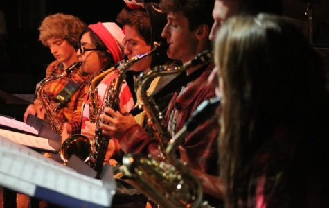 Jazz Band Dresses Up For Autumn Concert