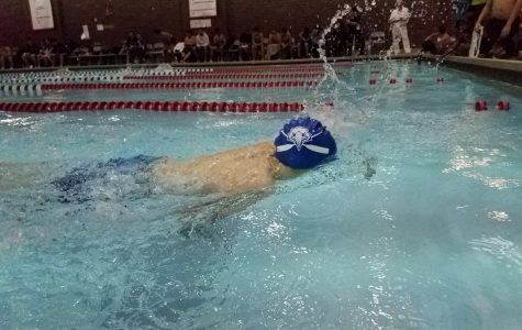 Eagles Swim Team Makes Waves Against Curie