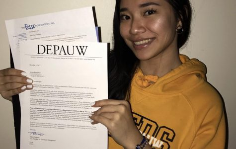 AVID Senior Receives Prestigious Posse Scholarship To DePauw University