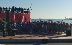 Eagle Singers Spread Holiday Cheer At Navy Pier
