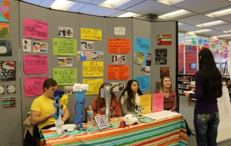 Taft Holds Annual Elective Fair For Students Choosing Classes