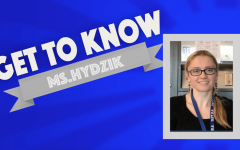 Get To Know: Ms. Hydzik