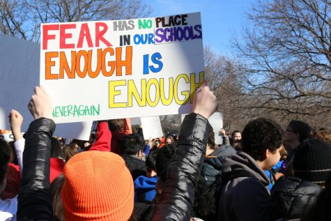 Taft Students Show Solidarity, Walk Out Of Class In Hopes For Improved Gun Control