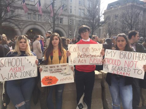 March For Our Lives: Four Of Taft's Issues To Action Members Marched In Solidarity For Those Affected By Gun Violence