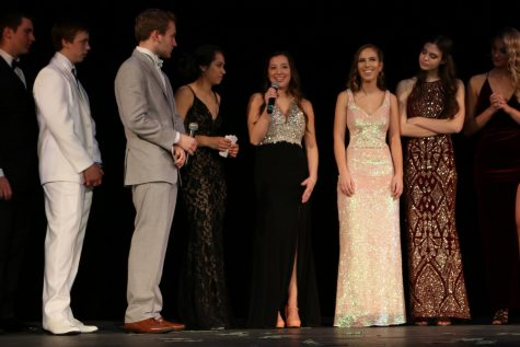 Seniors Participate In Student Run Prom Fashion Show