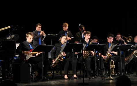 Jazz Band Performs Final End of the Year Concert