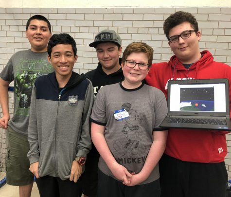 Taft Students Code For 24-Straight Hours, Win At CPS Hackathon