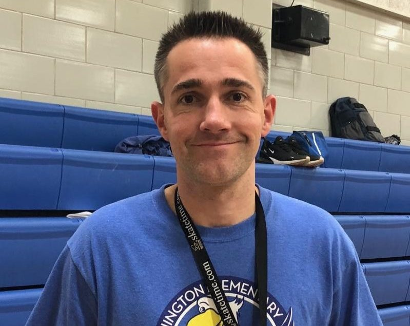 New Head Boys Basketball Coach Jason Tucker Photo by Melissa Parra.