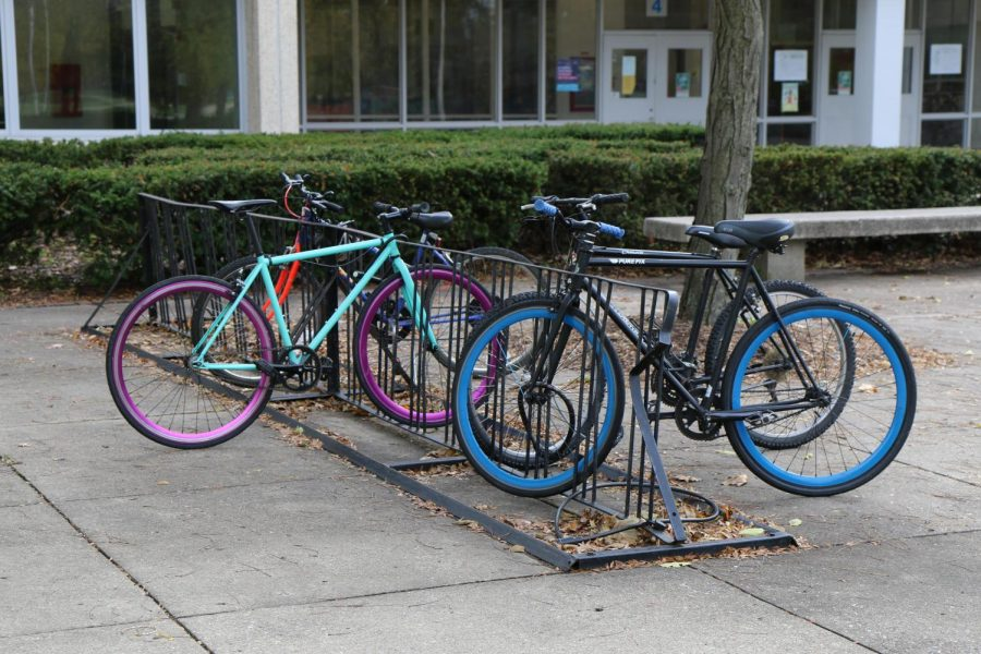 Taft+bike+racks+at+the+front+entrance+near+door+4+are+going+to+be+installed+for+any+eagles+biking+to+school+when+the+warm+weather+comes+again.