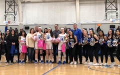 Girls Varsity Basketball Team Senior Night