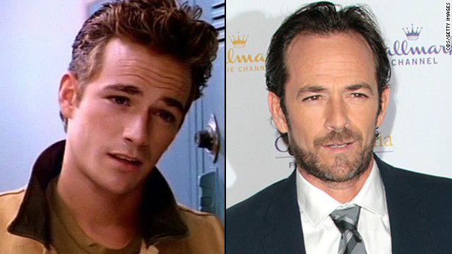 Dylan+McKay+%28Left%29+and+Fred+Andrews+%28Right%29.+Both+characters+played+by+Luke+Perry.
