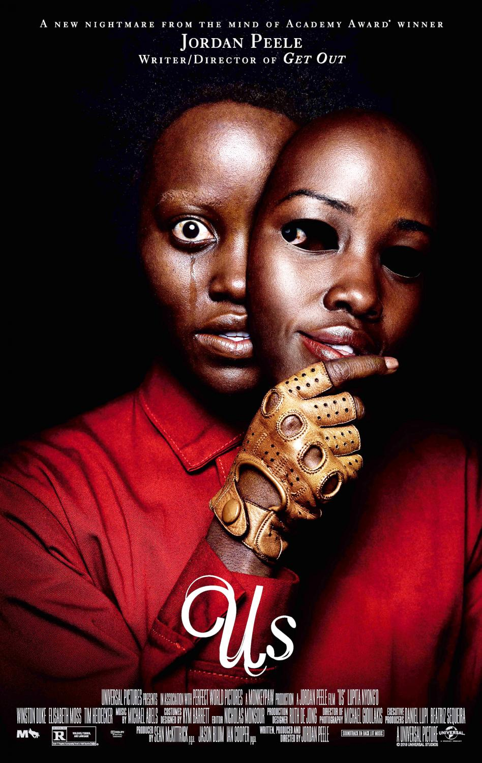 New horror film Us, written and directed by actor Jordan Peele, showed in theaters on March 22.