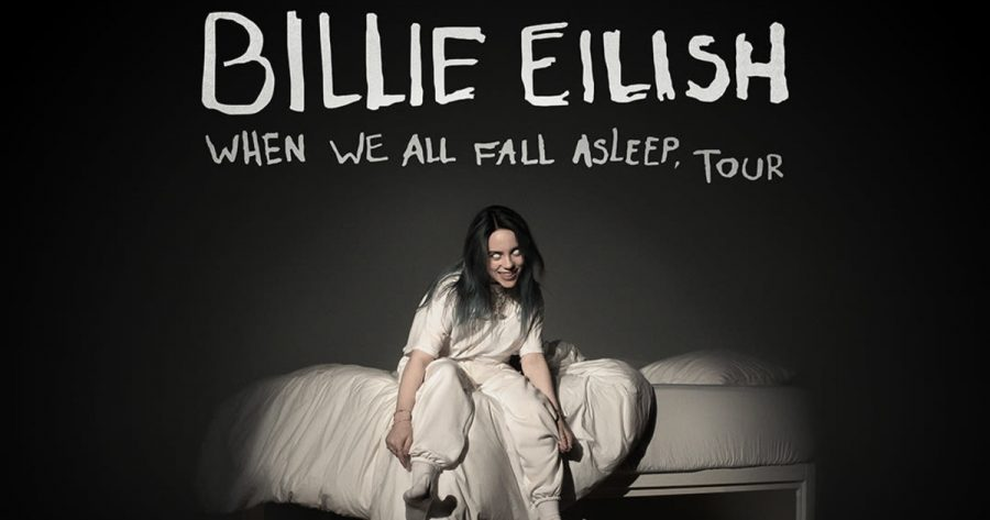 Billie+Eilish+captures+aspects+of+her+new+album+within+the+cover.++%0A
