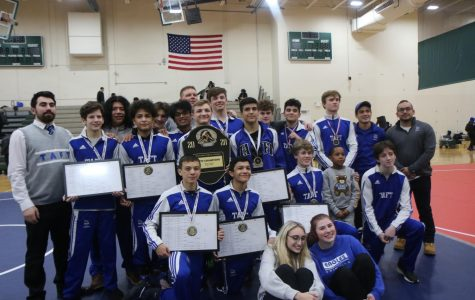 "Wrestlers complete City 3-peat – ""No mercy"""