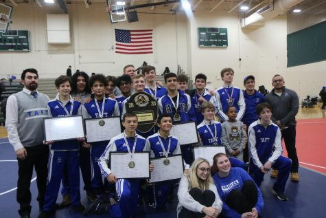 "Wrestlers complete City 3-peat - ""No mercy"""