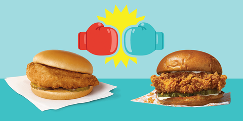 The debate over which chicken sandwich is best just maybe remain unresolved