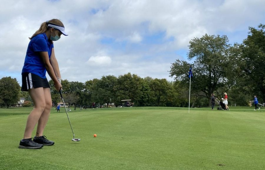 Highlights from this year's girls golf season include a pair of second-place finishes and having five of Taft's six golfers qualify for the CPS girls golf city finals.